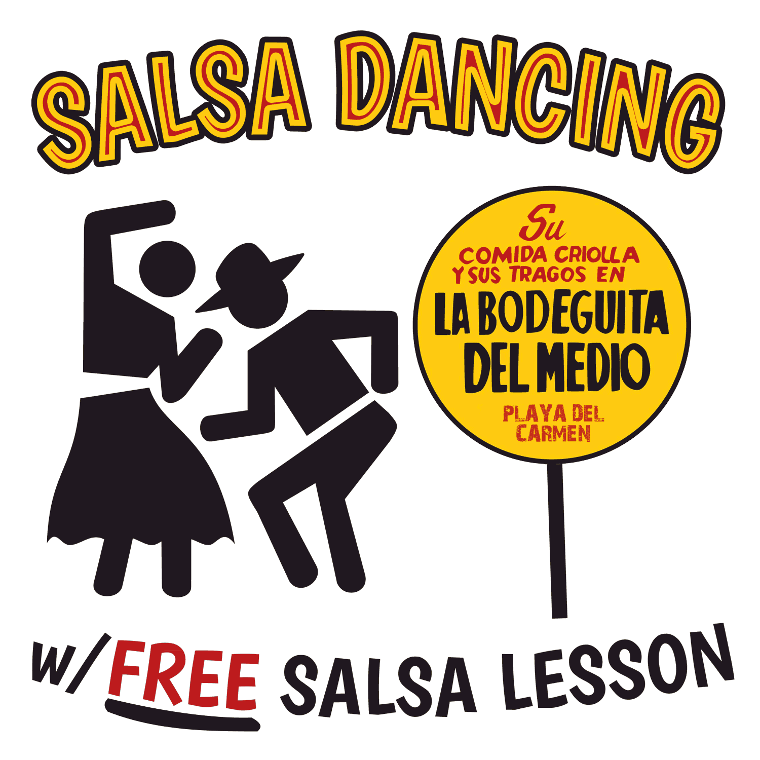 Free Salsa lessons on Thursday nights!