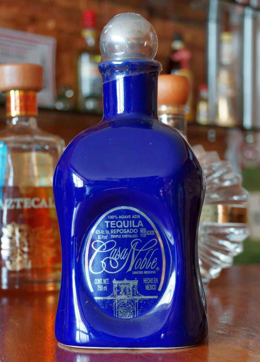 A bottle of Casa Noble tequila.jpg
