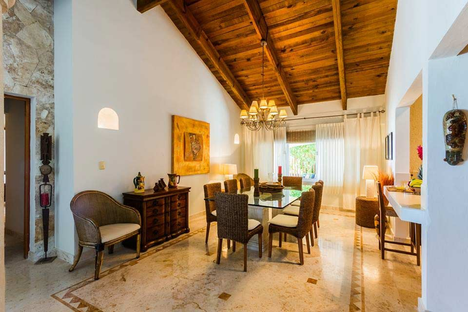 villa-del-mar-dining-room-vacation-rental-playa-del-carmen