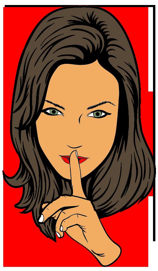 woman-saying-shhhh