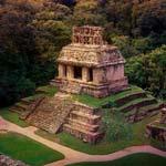 poll-small-mayan-pyramid-at-sunset-in-jungle