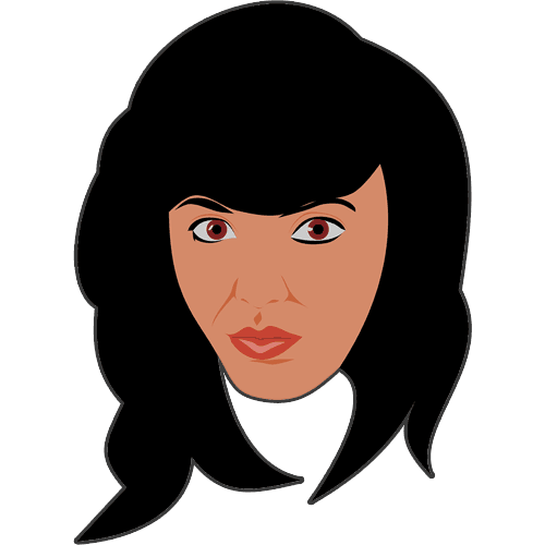 women-with-long-dark-hair-brown-eyes-cartoon