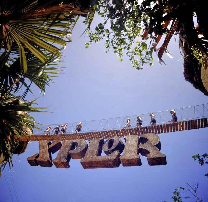 The Xplor theme park entrance.