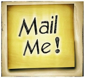 Mail Me! written on a Post-it note.