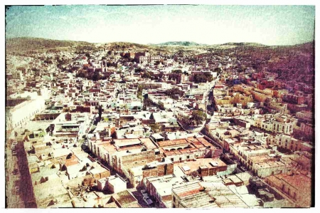 A picture of the horrible city where I lived called Zacatecas in the state of Zacatecas in Mexico.
