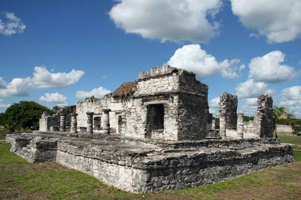 Several more Mayan ruins near Playa Del Carmen.