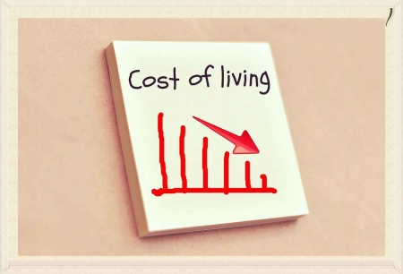 The cost of living usually goes down when moving to Playa Del Carmen graphic.