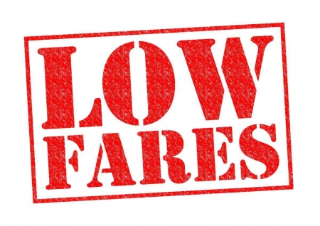 Low fares graphic.