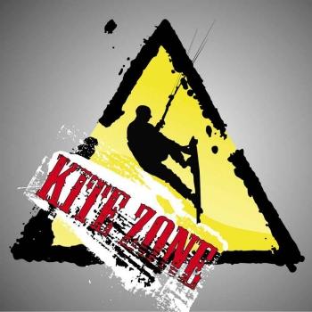 A kite boarding graphic.