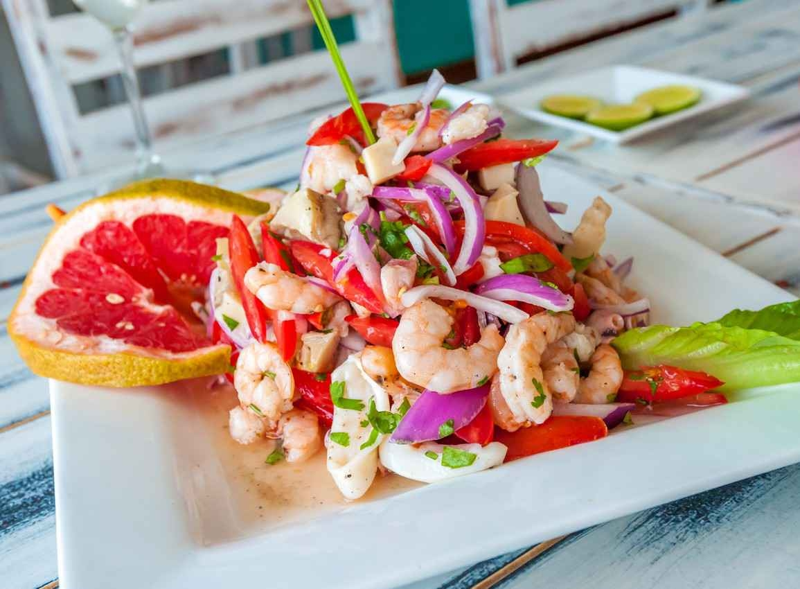marinated-seafood-salad
