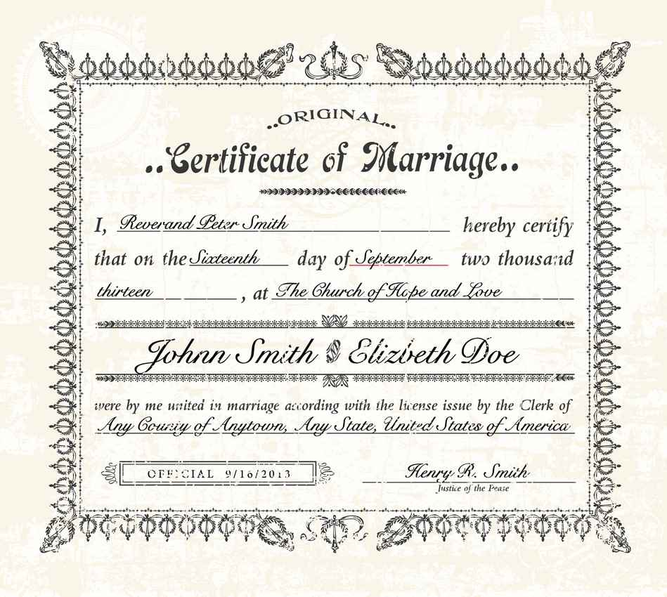 Wedding Certificate: Mexico Marriage Requirements • PlayaDelCarmen.org