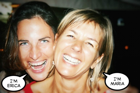 Erica, the expert on Mexico marriage requirements, and her partner Maria.