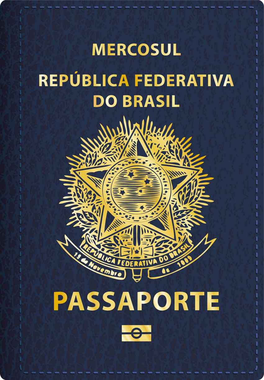 Graphic Of A Brazilian Passport Passport For Travel To Mexico '�  Playadelcarmen