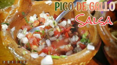A specific type of Pico de Gallo sauce that is served on Fifth Avenue.