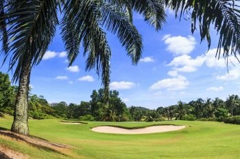 An epic and beautiful golf course near Playa Del Carmen.