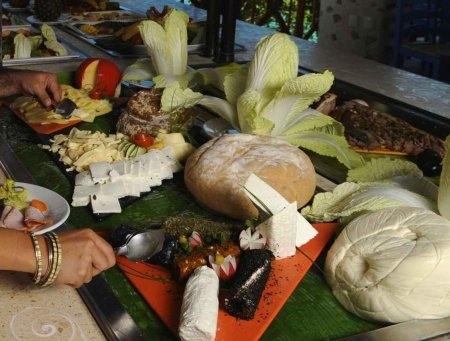 You will need to decide between multiple cheeses and bread at buffets in Playa Del Carmen's all-inclusive resorts.