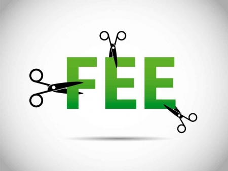 Cutting fees graphic.