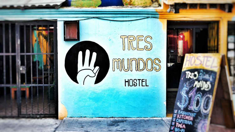 Tres Mundos Hostel Playa Del Carmen.