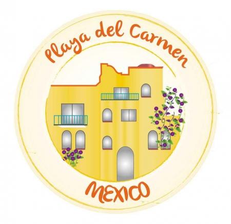 Playa Del Carmen Mexico real estate graphic.