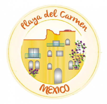 Playa Del Carmen Mexico real estate graphic.