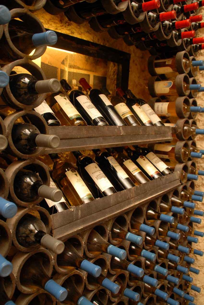 A large wine collection in the cellar at the Xcaret themepark.
