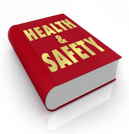 A health and safety book.