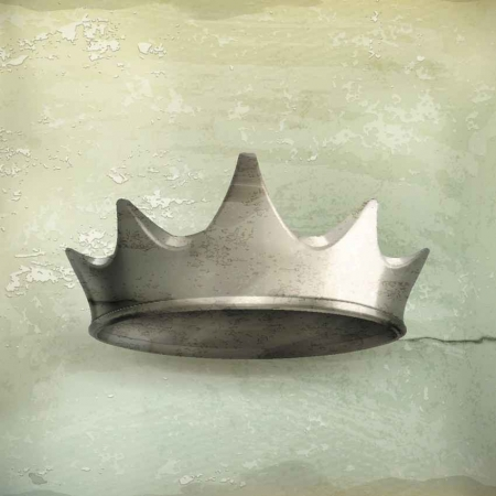 A graphic of a king's crown.