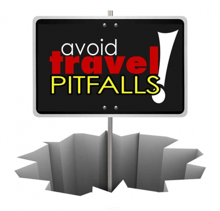 Avoid travel pitfalls graphic.