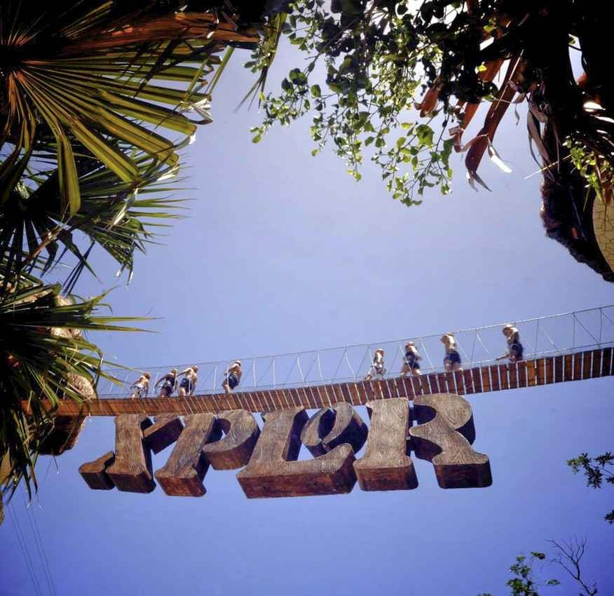 The Xplor theme park entrance.
