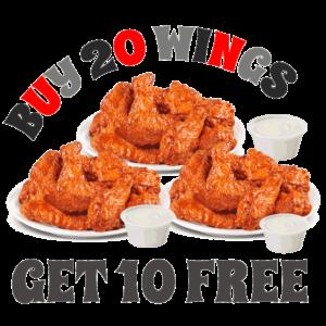 Buy 20 Wings - Get 10 Wings FREE @ Wings Army | Playa del Carmen | Quintana Roo | Mexico