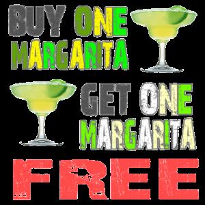 BUY ONE MARGARITA, GET ONE MARGARITA FREE @ Wah Wah Beach Bar | Playa del Carmen | Quintana Roo | Mexico
